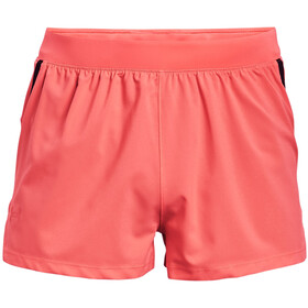 Under Armour Launch SW Split Shorts Men, venom red-black